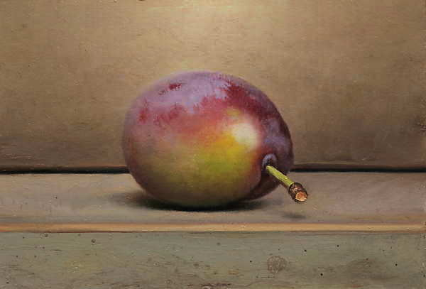Painting: Still life with prune