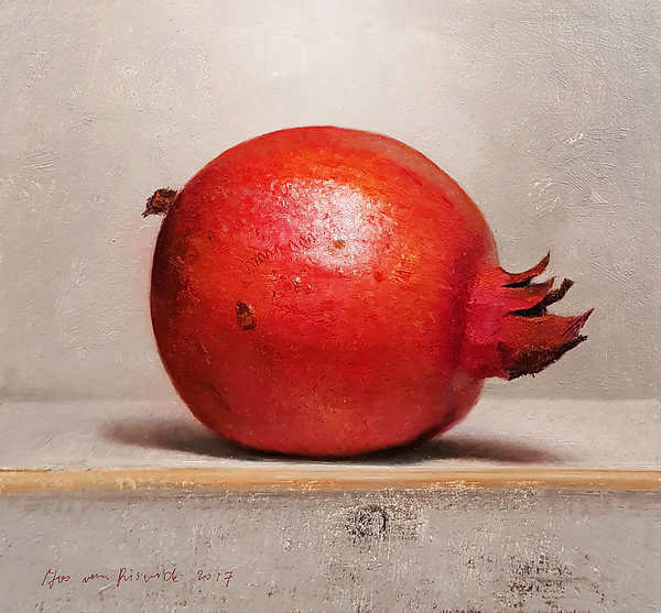 Painting: Stilllife with pomegranate