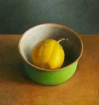 Painting: Still life with pumpkin