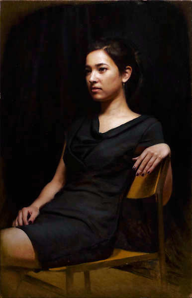 Painting: Portrait of Irene