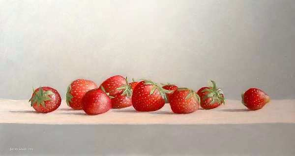 Painting: 10 Strawberries