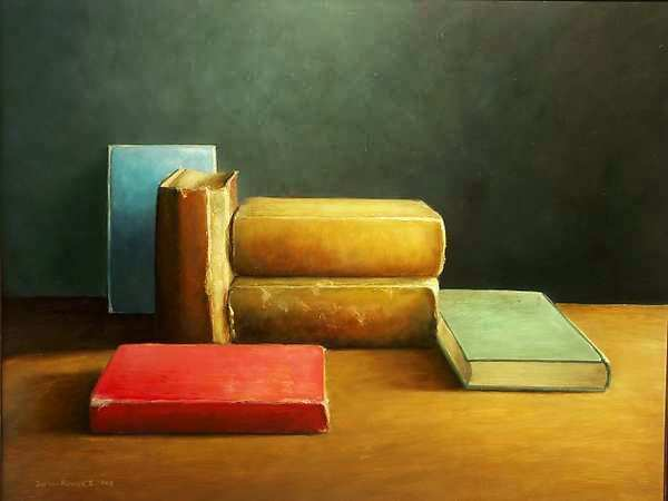 Painting: Books