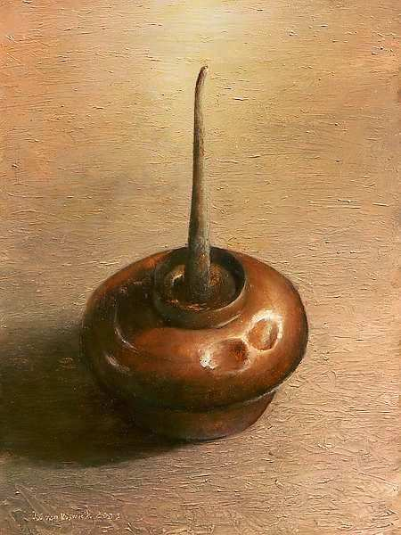 Painting: Still life with oil