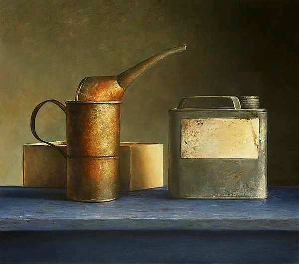 Painting: Vanitas still life