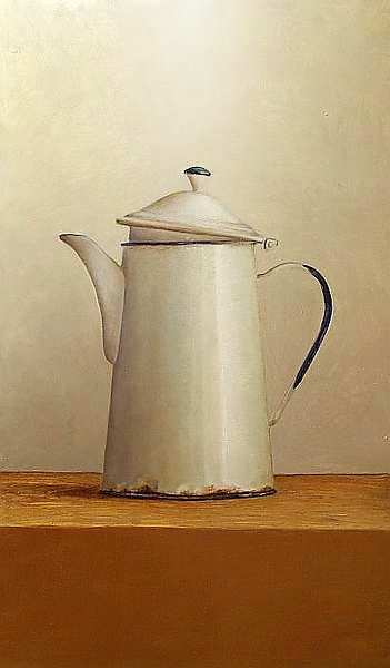 Painting: Still life with white jug