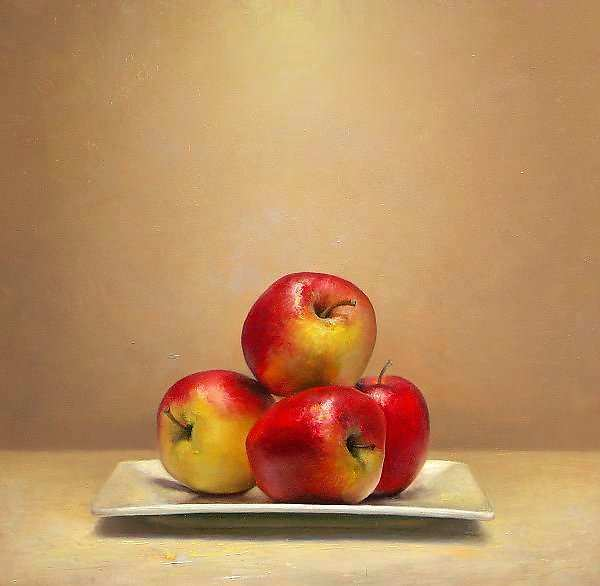 Painting: Still life with Apples