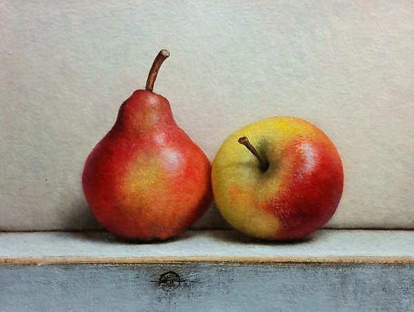 Painting: Fruit stilllife