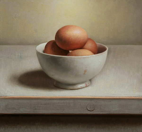 Painting: Still life with eggs