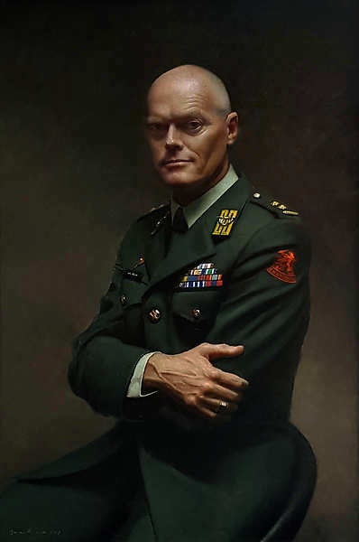 Painting: Military Portrait