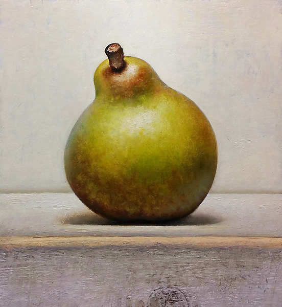Painting: Stilllife with pear