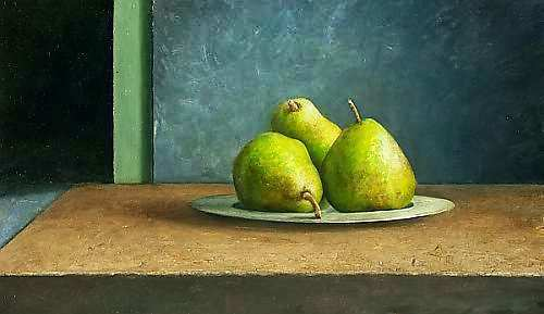 Painting: Still life with pears