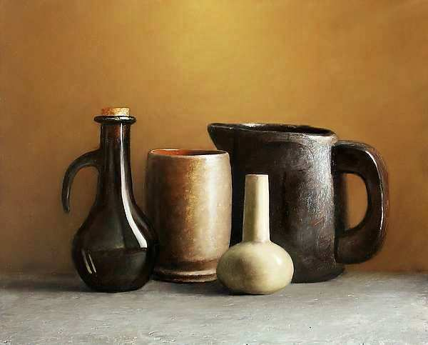 Painting: Still life with objects from Het Goed