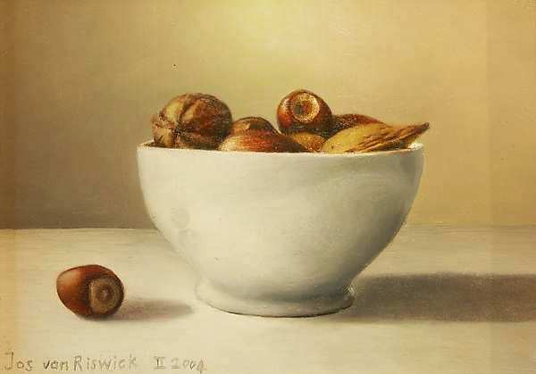 Painting: Bowl with nuts