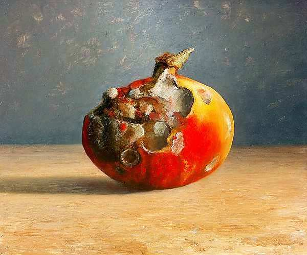 Painting: Still life decay