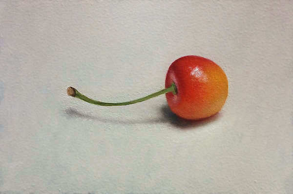 Painting: Yellow Cherry
